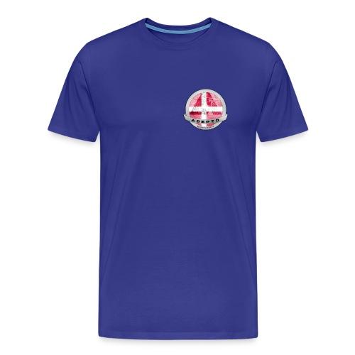Version 1 - Herre premium T-shirt