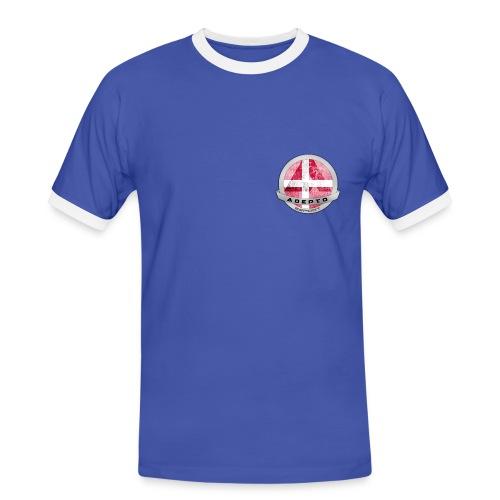 Version 2 - Herre kontrast-T-shirt