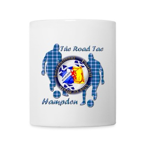 Scotland Football Blue Tartan Together - Mug