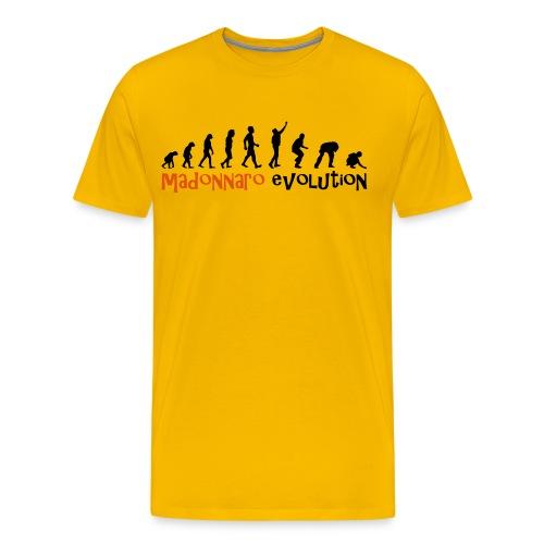 MADONNARO EVOLUTION ORIGINAL - Men Black logo - Men's Premium T-Shirt