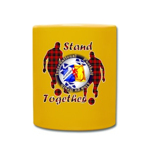 Scotland Football Tartan Together - Full Colour Mug