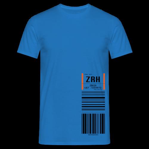 ZürichFlugticket - Männer T-Shirt