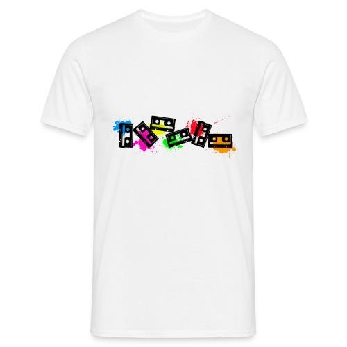 cassettes - T-shirt Homme