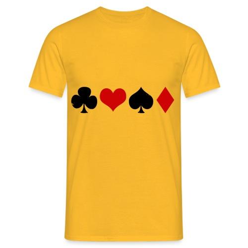 poker - T-shirt Homme