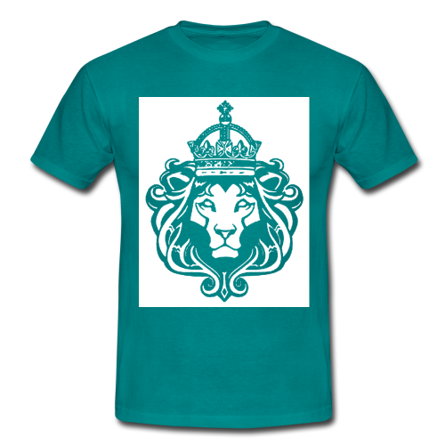 BunZ Lion stencil T shirt - Men's T-Shirt
