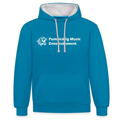 Finest in Electronic Club Music Hoodie - Kontrast-Hoodie