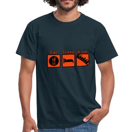 EAT - SLEEP - RIDE - T-shirt Homme