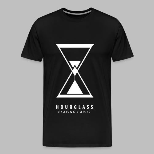 Hourglass Classic black - Männer Premium T-Shirt