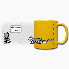 We come in peace! Mugs & Drinkware