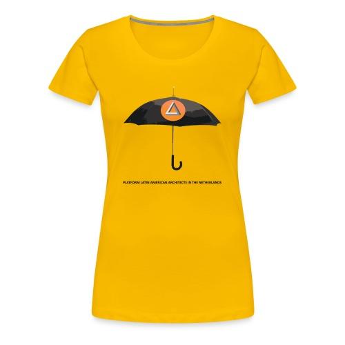 Premium T-Shirt woman UMBRELLA - Vrouwen Premium T-shirt