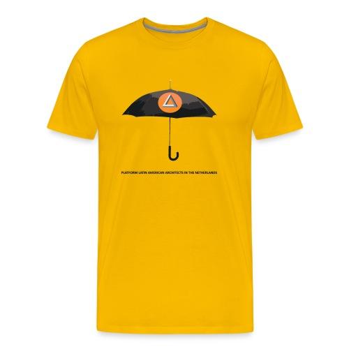 Premium T-Shirt man UMBRELLA - Mannen Premium T-shirt