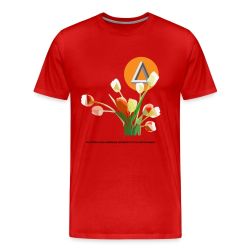 Premium T-Shirt man TULIP - Mannen Premium T-shirt
