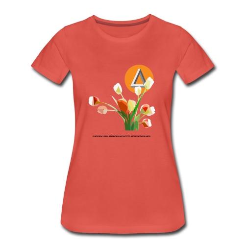 Premium T-Shirt woman TULIP - Vrouwen Premium T-shirt
