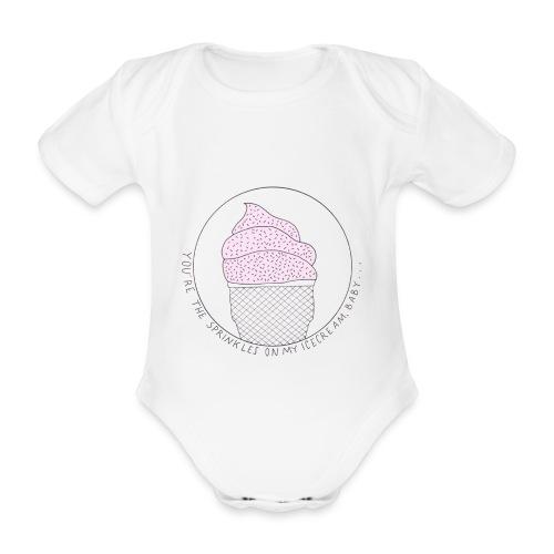 Icecream, Baby! - Baby Bio-Kurzarm-Body