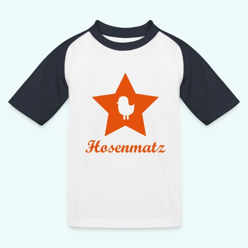 Hosenmatz Vogel - Kinder Baseball T-Shirt