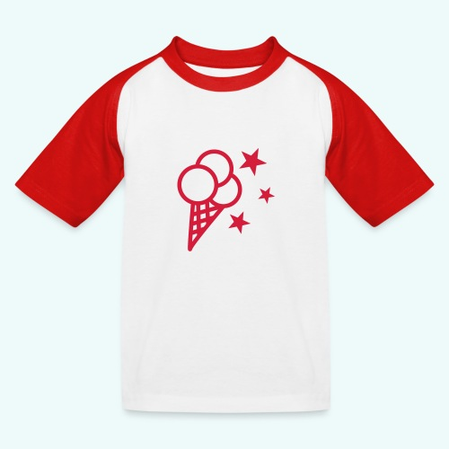 Eis - Kinder Baseball T-Shirt