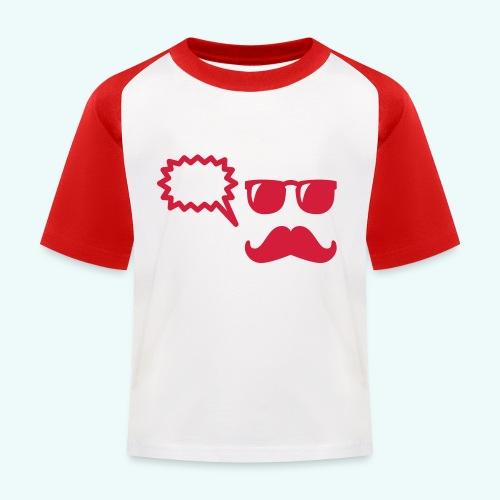 Hipster - Kinder Baseball T-Shirt