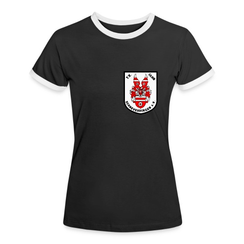 Frauen Kontrast T-Shirt - Frauen Kontrast-T-Shirt