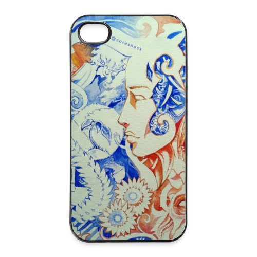 Human Contrast - iPhone 4/4s Hard Case