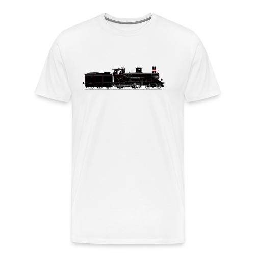 DSB litra C 1950 - Herre premium T-shirt