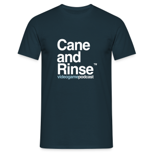 Cane and Rinse logo Navy - Men's T-Shirt