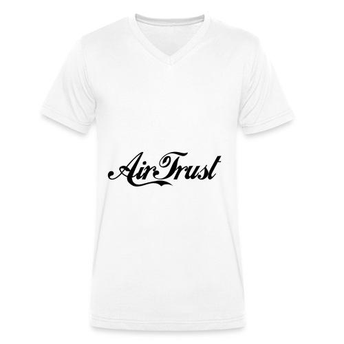 AirTrust T-Shirt Classic - Männer Bio-T-Shirt mit V-Ausschnitt von Stanley & Stella