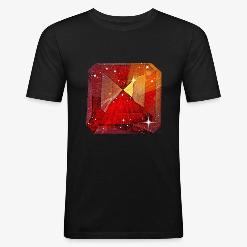Rubis - Men's Slim Fit T-Shirt