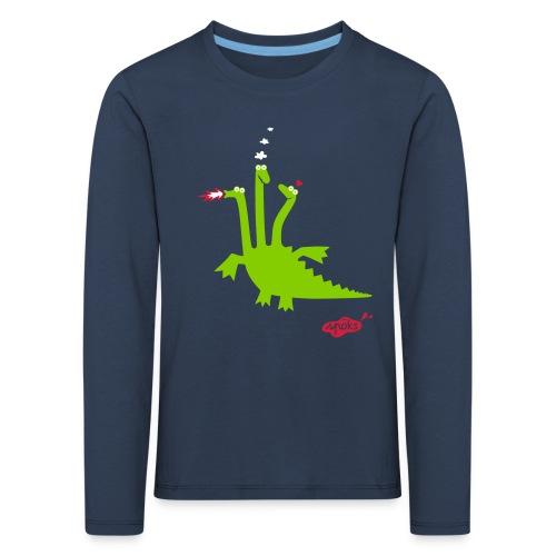 Drache JuLiUs - Kinder Premium Langarmshirt