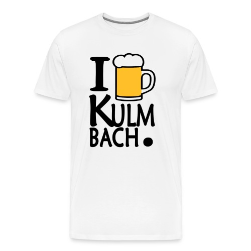 I Love Kulmbach - Männer Premium T-Shirt