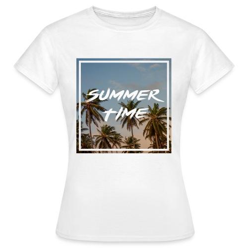 Summer Time (Frauen) - Frauen T-Shirt