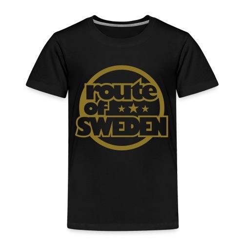 Simple 2016 - Black & Gold Barn - Premium-T-shirt barn