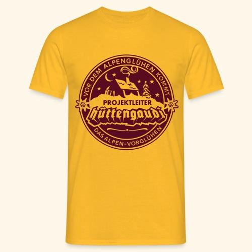 Projektleiter Hüttengaudi - Männer T-Shirt