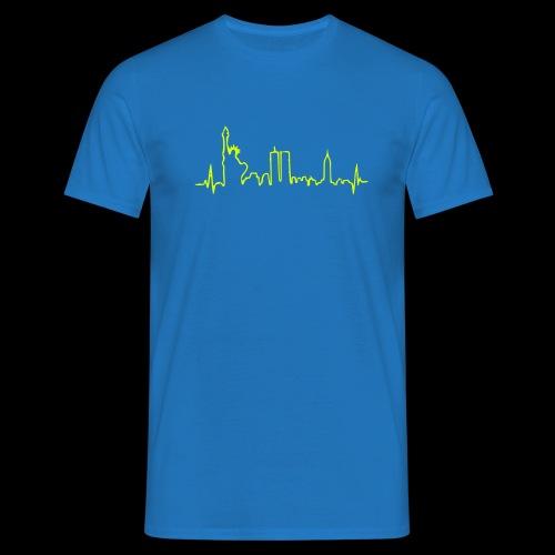 Skyline New York - Männer T-Shirt