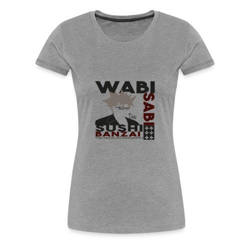 Wabi Sabi (W) - Frauen Premium T-Shirt