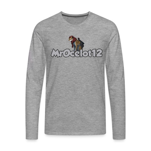 MrOcelot manches longue - T-shirt manches longues Premium Homme