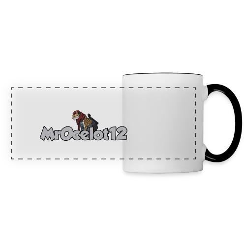 MrOcelot mug - Mug panoramique contrasté et blanc