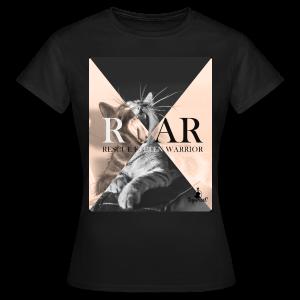 Rescue Kitten Warrior Black (Female) - Vrouwen T-shirt