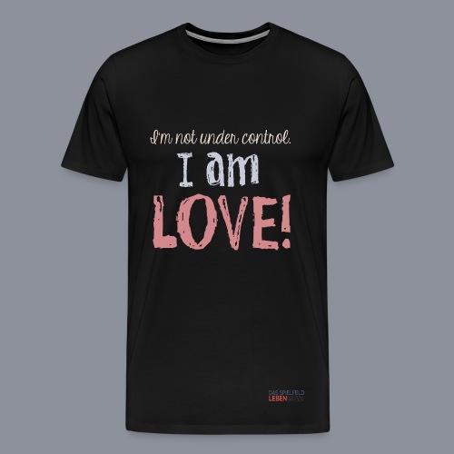 Shirt I AM LOVE - Männer Premium T-Shirt