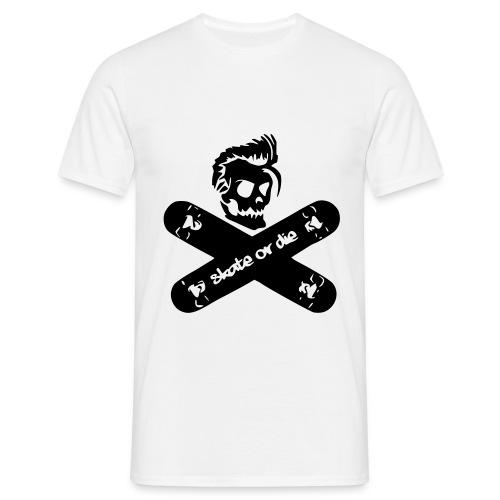 skate or die T-Shirt - Männer T-Shirt