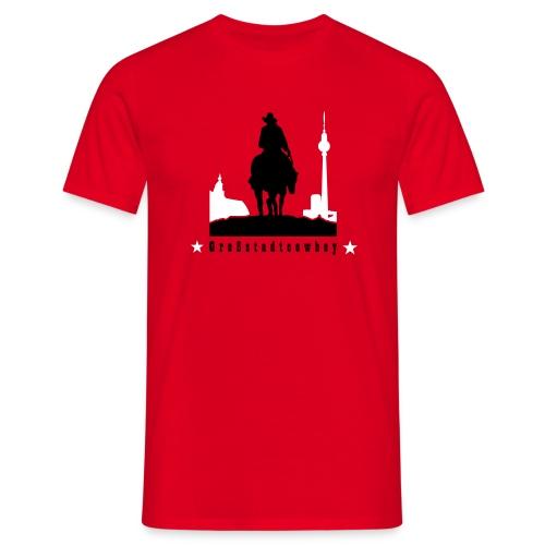 Großstadtcowboy - Männer T-Shirt