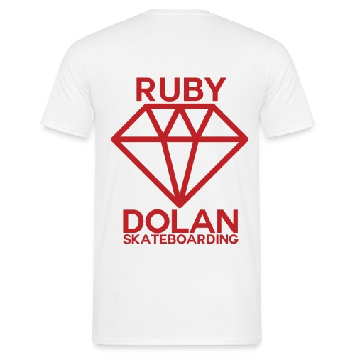 Ruby Dolan SB Full Back Logo - Men's T-Shirt