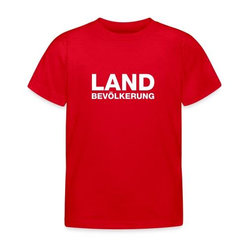 Landbevölkerung | KidsShirt - Kinder T-Shirt