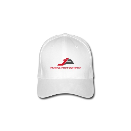 Baseball Cap with Pearce Photography Logo - Flexfit Baseball Cap