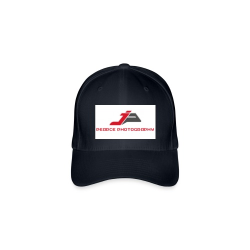 Baseball Cap with Pearce Photography Logo - Flexfit Baseball Cap