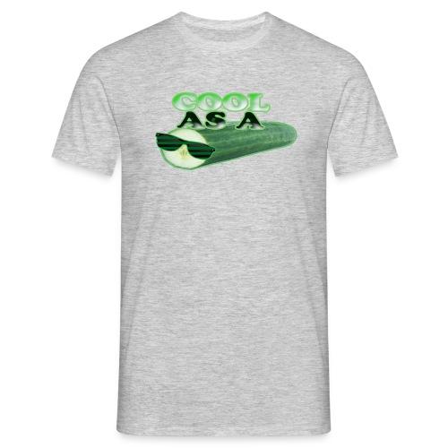 Cool As A Cucumber T-Shirt (cool green) - Men's T-Shirt