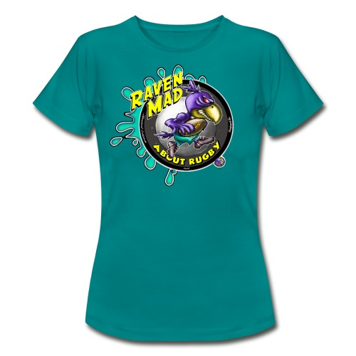 Female  Raven Mad Rugby - Women's T-Shirt