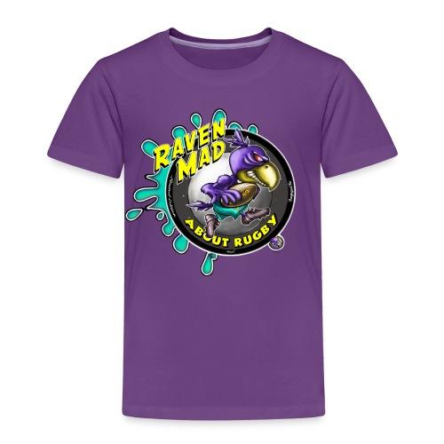 Kids Raven Mad Rugby - Kids' Premium T-Shirt