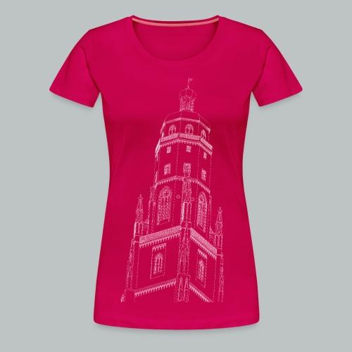 Nördlinger Wahrzeichen Daniel  T-Shirt (Frauen) - Frauen Premium T-Shirt