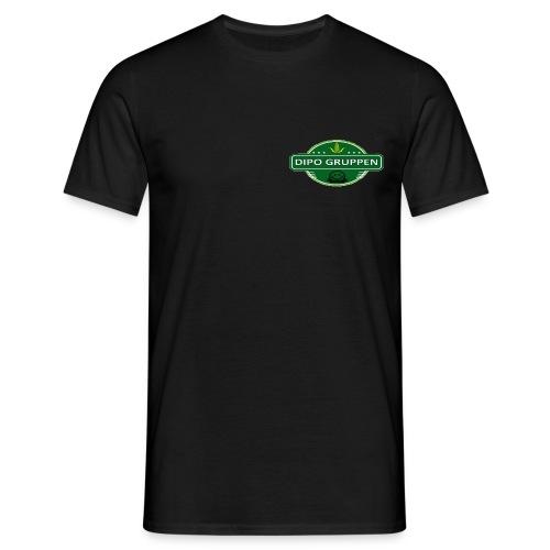 Herre T-Shirt DG Crew - Hvid tekst - Herre-T-shirt
