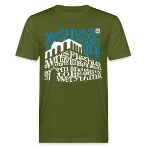 100015Q - Mannen Bio-T-shirt
